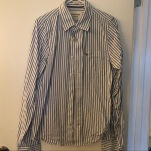 Men's Abercrombie and Fitch button-down shirt